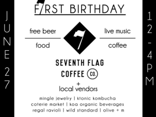 Seventh Flag Coffee Co_First Anniversary Celebration_June 2015