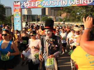 Keep Austin Weird, race, runners