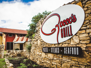 Rocco's Grill Austin Restaurant Bee Cave sign
