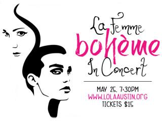 La Femme Bohème in Concert