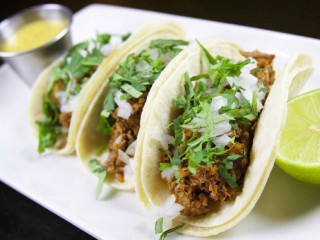 Braised pork tacos at So & So's