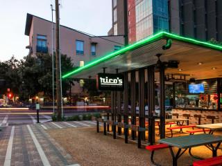 Houston, Rico's Midtown, October 2015, patio