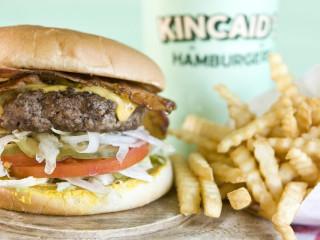 Kincaid's bacon cheeseburger