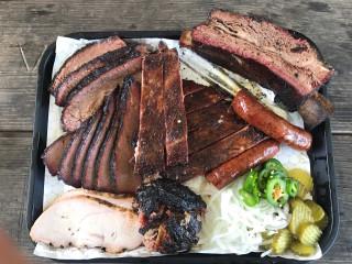 CorkScrew BBQ Spring full tray