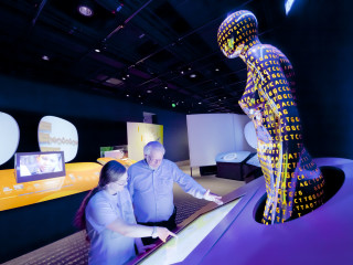 "The Health Museum presents ""Genome: Unlocking Life's Code"" opening day"