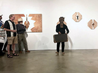 Cindy Lisica Gallery presents Artist Talk by Anthony Suber and Dance Performance by Harrison Guy
