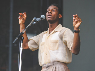 Austin City Limits Festival ACL 2015 Weekend Two Leon Bridges