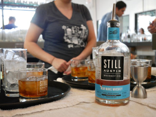 Still Austin Whiskey Product  SHot