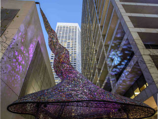 "Sculpture Month Houston presents ""Tensile Strength"" opening day"
