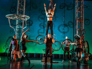 Miller Outdoor Theatre presents Cirque Mechanics: <i>Pedal Punk</i>