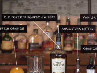 Madison Old Fashioned cocktail ingredients