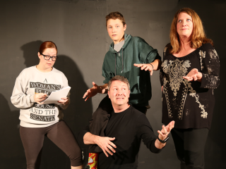 Not Right Productions presents Inspecting Carol