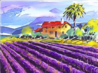 """Hunter George's Watercolor Exhibit: """"Reflections of the Past"""" opening day"""