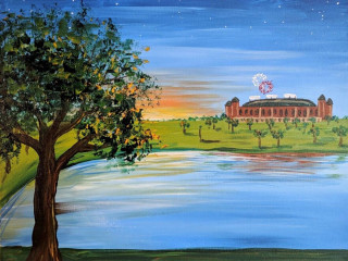 Texas Rangers Painting Class