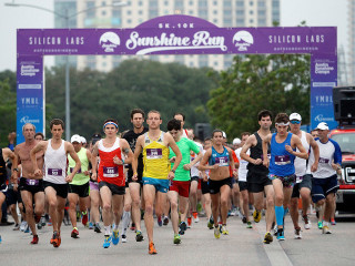 Sunshine Run_Silicon Labs_Austin marathon_2014