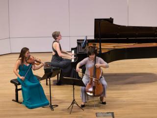 Sandy Yamamoto, Amy Levine-Tsang, and Michelle Schumann