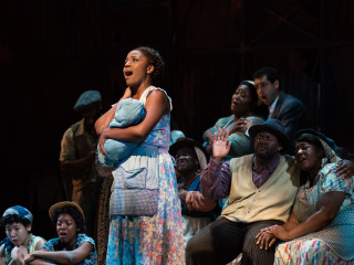 Meroë Khalia Adeeb as Clara Porgy and Bess, Fort Worth Opera