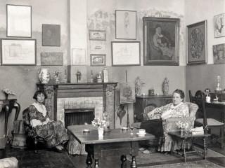 News_Alice B. Toklas and Gertrude Stein