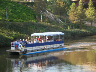 News_Buffalo Bayou Pontoon Boat