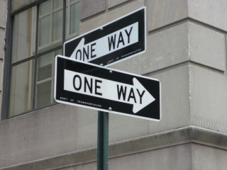 News_one way signs