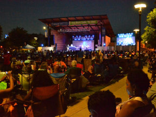 Levitt Pavilion for the Performing Arts in Arlington