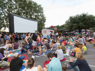 Parks and Recreation Outdoor Screening
