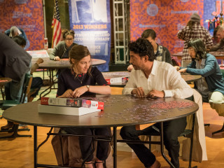 Kelly MacDonald and Irrfan Khan in Puzzle
