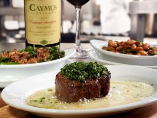 Ruth's TasteMaker Dinner with Caymus Vineyards