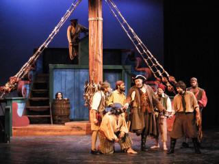 Dallas Children's Theater presents Treasure Island Reimagined