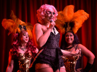 Burly Q Lounge: The Houston Burlesque Varie-TEASE Show