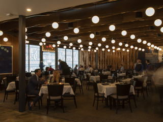 Georgia James steakhouse interior