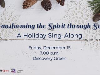<i>Transforming the Human Spirit through Song</i>