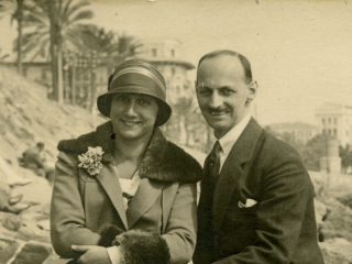 Edith and Otto Frank, Anne Frank's parents