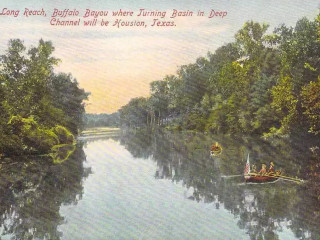 <i>A Historical View of Buffalo Bayou</i>