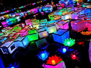 Confucius Wishing Lanterns