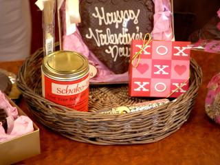 Schakolad Valentine's Day gift baskets