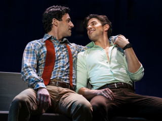 Max von Essen and Nick Adams in the national tour of Falsettos