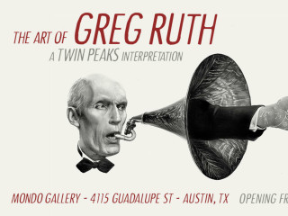 """The Art of Greg Ruth - A Twin Peaks Interpretation"" opening reception"