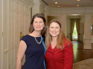 Dr. Lindy McGee, TIP President and CEO Allison Winnike