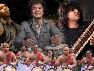 Zakir Hussain's Masters of Percussion