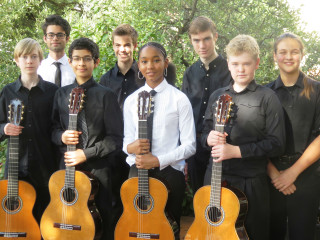 Austin Bella Corda Guitar Ensemble