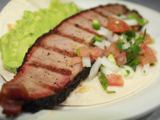 Garcia's Mexican Food brisket taco San Antonio