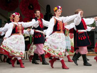 Dance Group Wawel at Houston Polish Festival