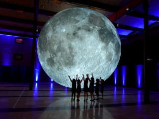 Moon by Luke Jerram Houston Museum of Natural Science