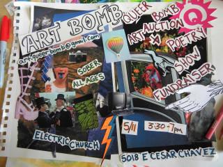 ArtBomb: A QueerBomb Fundraiser