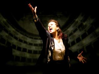 Celeste Roberts as Maria Callas in Master Class