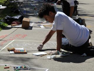 13th Annual I Madonnari High School Sidewalk Art Contest