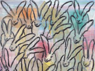 Laura Rathe Fine Art presents Hunt Slonem: Wonderland