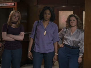 Elisabeth Moss, Tiffany Haddish, and Melissa McCarthy in The Kitchen