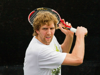 Dirk Nowitzki Pro Celebrity Tennis Classic